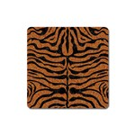 SKIN2 BLACK MARBLE & RUSTED METAL Square Magnet