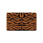 SKIN2 BLACK MARBLE & RUSTED METAL Magnet (Name Card)