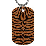 SKIN2 BLACK MARBLE & RUSTED METAL Dog Tag (One Side)
