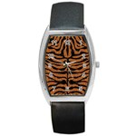 SKIN2 BLACK MARBLE & RUSTED METAL Barrel Style Metal Watch