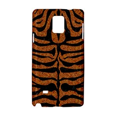 Skin2 Black Marble & Rusted Metal Samsung Galaxy Note 4 Hardshell Case by trendistuff
