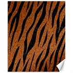 SKIN3 BLACK MARBLE & RUSTED METAL Canvas 11  x 14