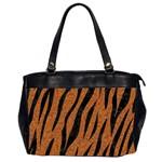 SKIN3 BLACK MARBLE & RUSTED METAL Office Handbags (2 Sides)