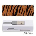 SKIN3 BLACK MARBLE & RUSTED METAL Memory Card Reader (Stick)
