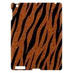 SKIN3 BLACK MARBLE & RUSTED METAL Apple iPad 3/4 Hardshell Case