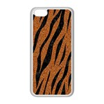SKIN3 BLACK MARBLE & RUSTED METAL Apple iPhone 5C Seamless Case (White)