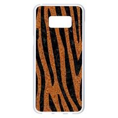 Skin4 Black Marble & Rusted Metal (r) Samsung Galaxy S8 Plus White Seamless Case by trendistuff