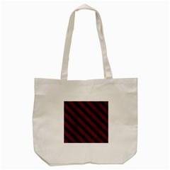 Stripes3 Black Marble & Reddish Brown Wood Tote Bag (cream) by trendistuff