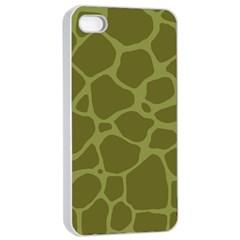 Autumn Animal Print 1 Apple Iphone 4/4s Seamless Case (white) by tarastyle