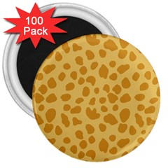 Autumn Animal Print 2 3  Magnets (100 Pack) by tarastyle