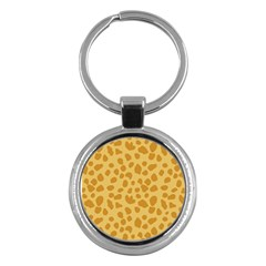 Autumn Animal Print 2 Key Chains (round)  by tarastyle