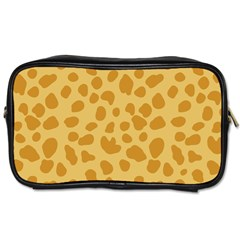 Autumn Animal Print 2 Toiletries Bags 2 Side by tarastyle