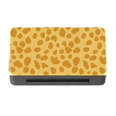 Autumn Animal Print 2 Memory Card Reader With Cf by tarastyle