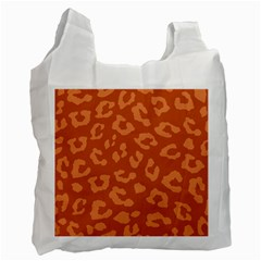 Autumn Animal Print 3 Recycle Bag (two Side)  by tarastyle