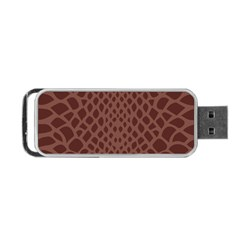 Autumn Animal Print 5 Portable Usb Flash (one Side) by tarastyle
