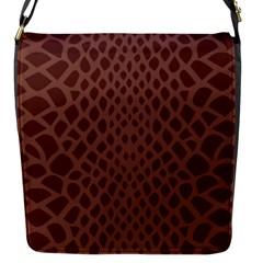 Autumn Animal Print 5 Flap Messenger Bag (s) by tarastyle