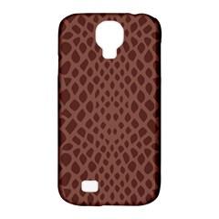Autumn Animal Print 5 Samsung Galaxy S4 Classic Hardshell Case (pc+silicone) by tarastyle