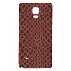 Autumn Animal Print 5 Galaxy Note 4 Back Case by tarastyle