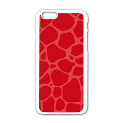 Autumn Animal Print 6 Apple Iphone 6/6s White Enamel Case by tarastyle
