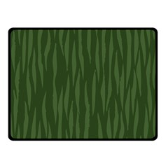 Autumn Animal Print 7 Double Sided Fleece Blanket (small)  by tarastyle