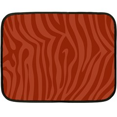 Autumn Animal Print 8 Fleece Blanket (mini) by tarastyle
