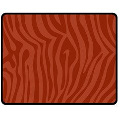 Autumn Animal Print 8 Fleece Blanket (medium)  by tarastyle