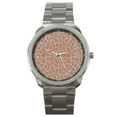 Autumn Animal Print 9 Sport Metal Watch by tarastyle