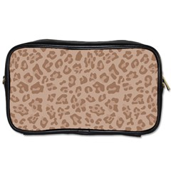 Autumn Animal Print 9 Toiletries Bags 2 Side by tarastyle