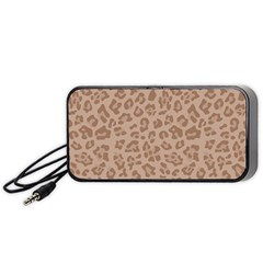 Autumn Animal Print 9 Portable Speaker by tarastyle