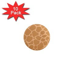 Autumn Animal Print 10 1  Mini Magnet (10 Pack)  by tarastyle