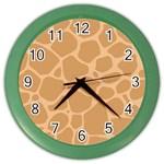 Autumn Animal Print 10 Color Wall Clocks