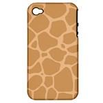 Autumn Animal Print 10 Apple iPhone 4/4S Hardshell Case (PC+Silicone)