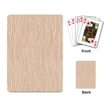 Autumn Animal Print 11 Playing Card