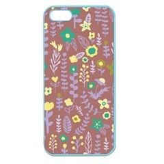 Cute Doodle Flowers 3 Apple Seamless Iphone 5 Case (color) by tarastyle