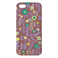 Cute Doodle Flowers 3 Apple Iphone 5 Premium Hardshell Case by tarastyle