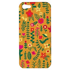Cute Doodle Flowers 4 Apple Iphone 5 Hardshell Case by tarastyle