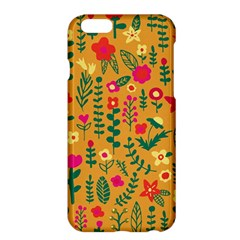Cute Doodle Flowers 4 Apple Iphone 6 Plus/6s Plus Hardshell Case by tarastyle