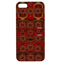 Pumkins  In  Gold And Candles Smiling Apple Iphone 5 Hardshell Case With Stand by pepitasart