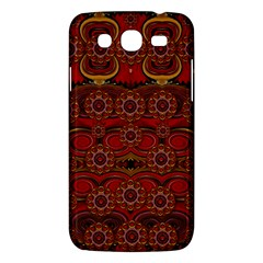 Pumkins  In  Gold And Candles Smiling Samsung Galaxy Mega 5 8 I9152 Hardshell Case  by pepitasart