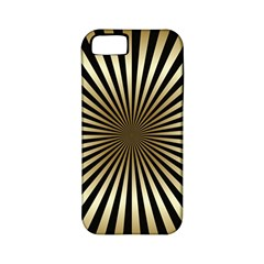 Art Deco Goldblack Apple Iphone 5 Classic Hardshell Case (pc+silicone) by 8fugoso