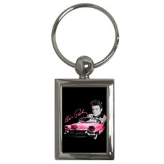 Elvis Presley s Pink Cadillac Key Chains (rectangle)  by Valentinaart