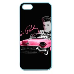 Elvis Presley s Pink Cadillac Apple Seamless Iphone 5 Case (color) by Valentinaart