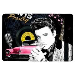 Elvis Presley Collage Ipad Air Flip by Valentinaart