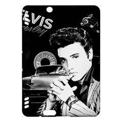 Elvis Presley Collage Kindle Fire Hdx Hardshell Case by Valentinaart