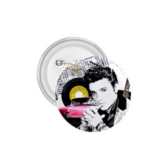 Elvis Presley Collage 1 75  Buttons by Valentinaart