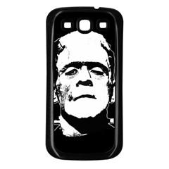 Frankenstein s Monster Halloween Samsung Galaxy S3 Back Case (black) by Valentinaart