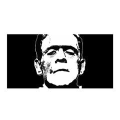 Frankenstein s Monster Halloween Satin Wrap by Valentinaart