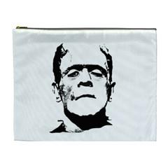 Frankenstein s Monster Halloween Cosmetic Bag (xl) by Valentinaart