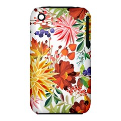 Autumn Flowers Pattern 1 Iphone 3s/3gs by tarastyle