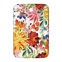 Autumn Flowers Pattern 1 Samsung Galaxy Note 8 0 N5100 Hardshell Case  by tarastyle